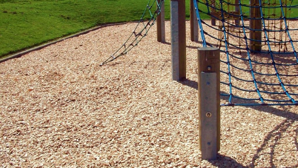 Wood Chipping For Playgrounds